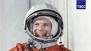Юрий Гагарин - первый человек в космосе(55 лет назад, 12 апреля 1961 года, в 9:07 по московскому времени космический корабль