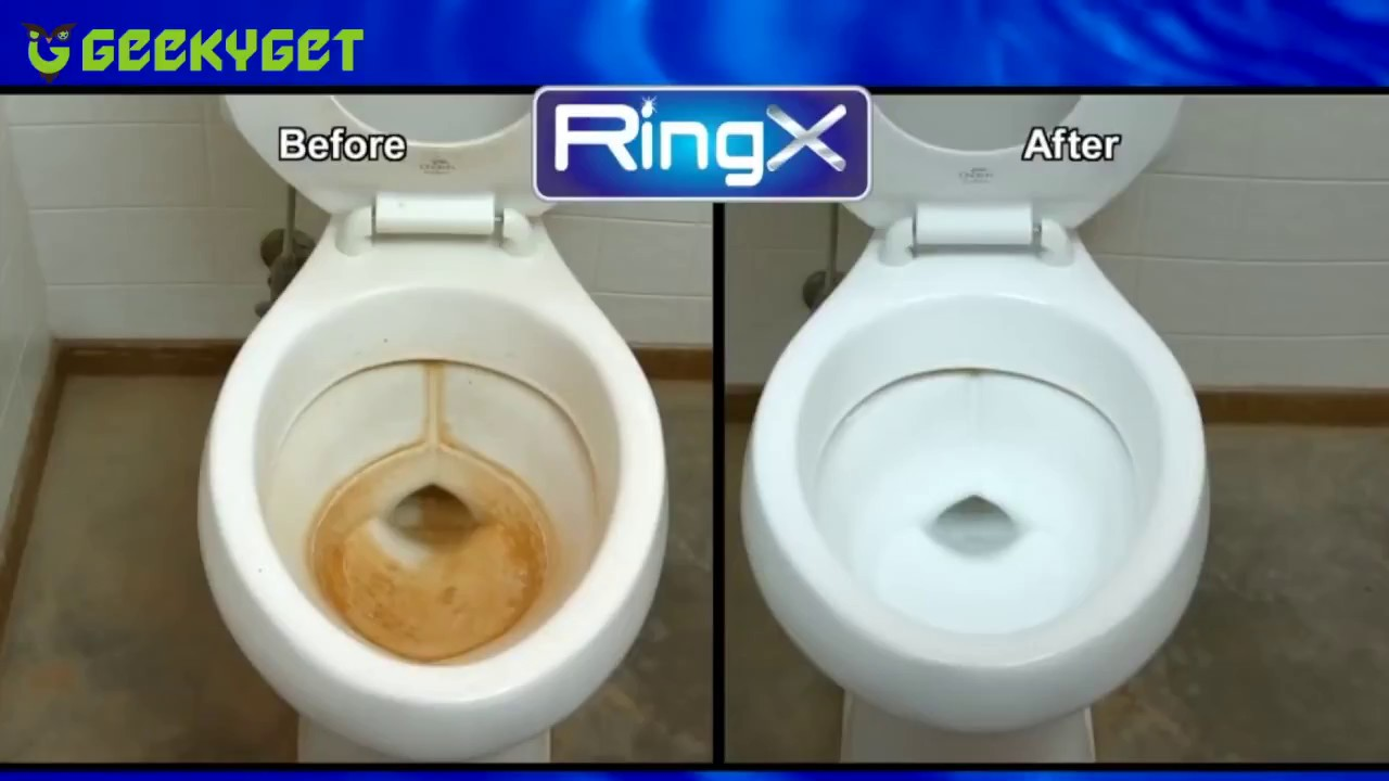 Ring X Pumice Stone Toilet Bowl Cleaner