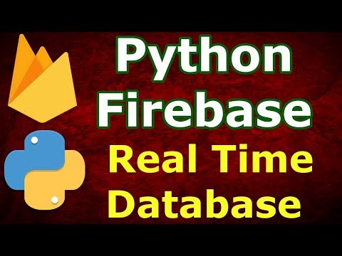 Python Firebase Real Time Database Example   CRUD Tutorial thumbnail