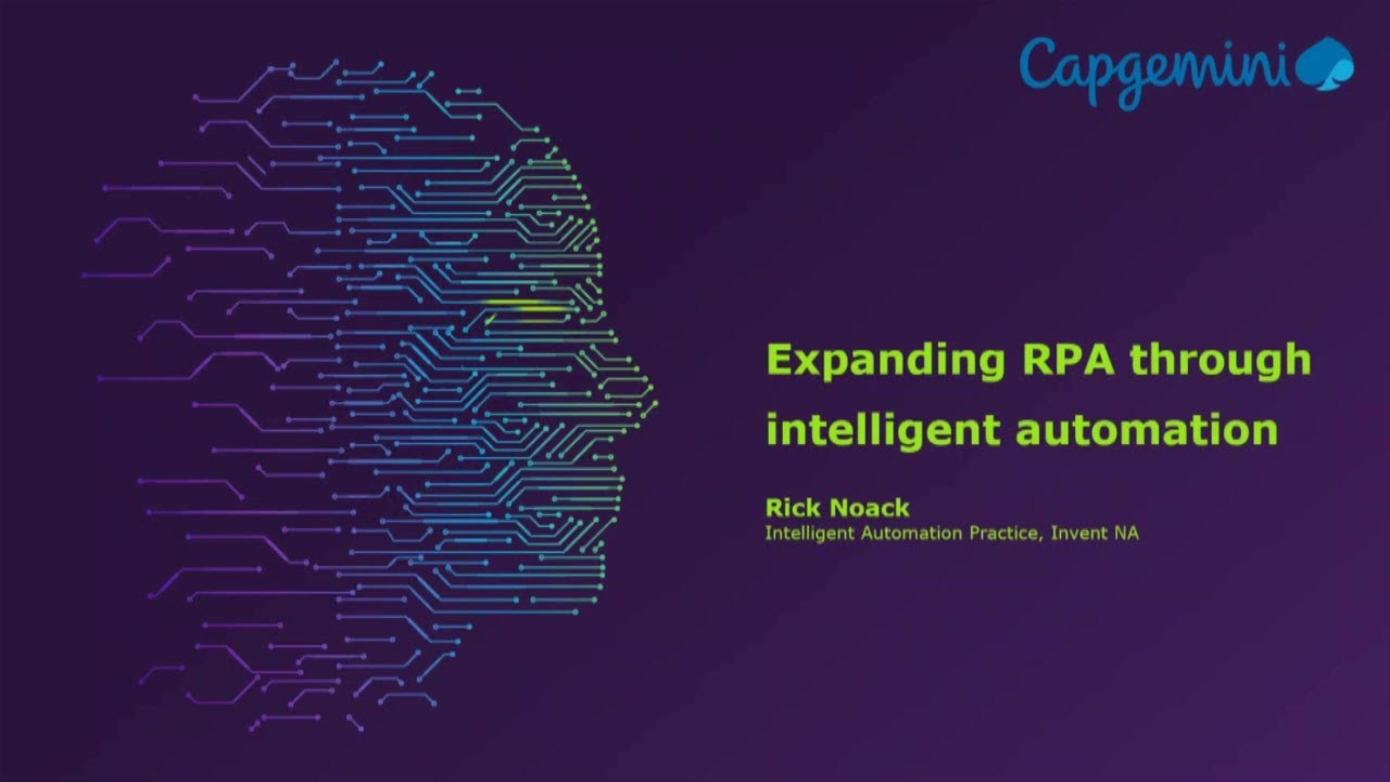 Expanding Rpa Through Intelligent Automation