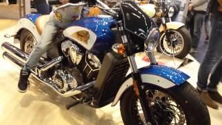 Мотоциклы Yamaha, Victory, Indian, Horex. Выставка Intermot 2016 в Кёльне, Германия.