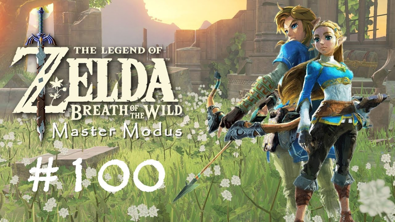 Kletterausrüstung Zelda Breath Of The Wild : The legend of zelda breath wild master modus #100 die