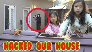 Game Master Hacks Our HOUSE While We Play Power Wheels Ride On Car