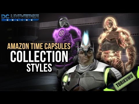 DCUO Amazon Time Capsules: Collection Styles