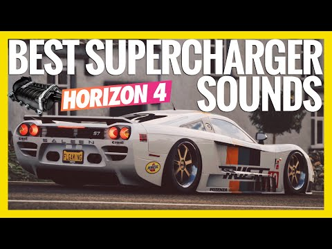 Forza Horizon 4 | Best Supercharger Sounds |Whine Sounds Compilation thumbnail