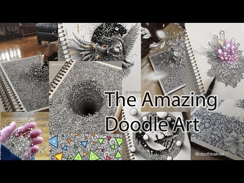 Amazing Doodle Art - Doodle Art Cambodian - The Clips - Awesome Artiest - Awesome People