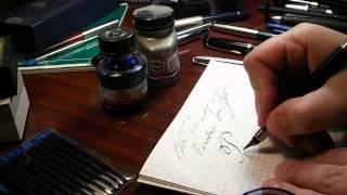 Поговорим о ручках (перьевые ручки) Перьевая ручка и чернила.