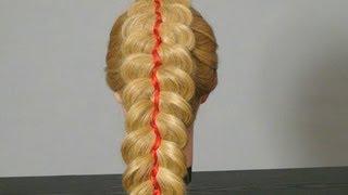 Плетение косы из 5 прядей: пошаговые уроки с фото и видео