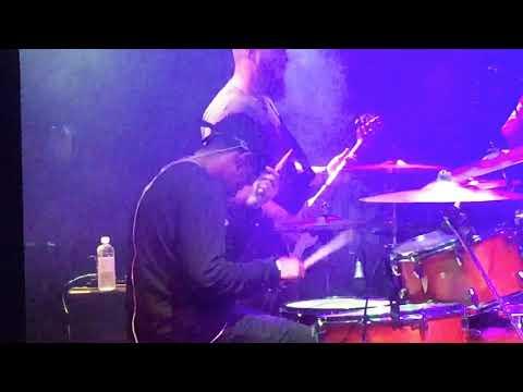 Caleb E Sanders, killer drum solo@Shepherd,Clearwater Beach . Feb18