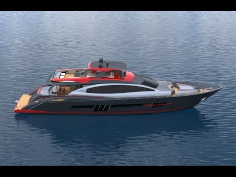 How to build  the new Lazzara Yachts  95S presented by Randall Burg