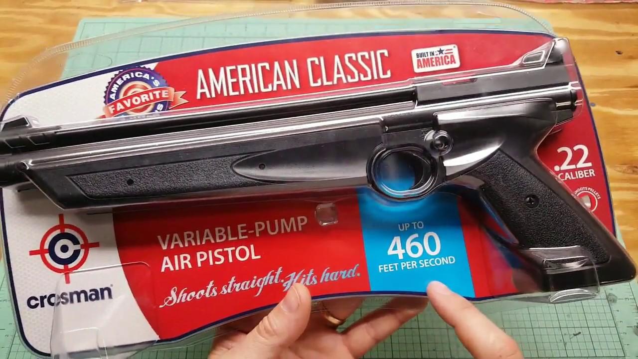 Crosman 1322 Review  22 caliber air pistol shooting test pellet gun