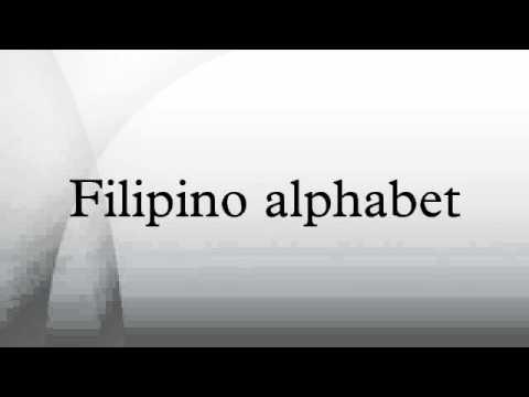 Alphabet original filipino Alphabitos and