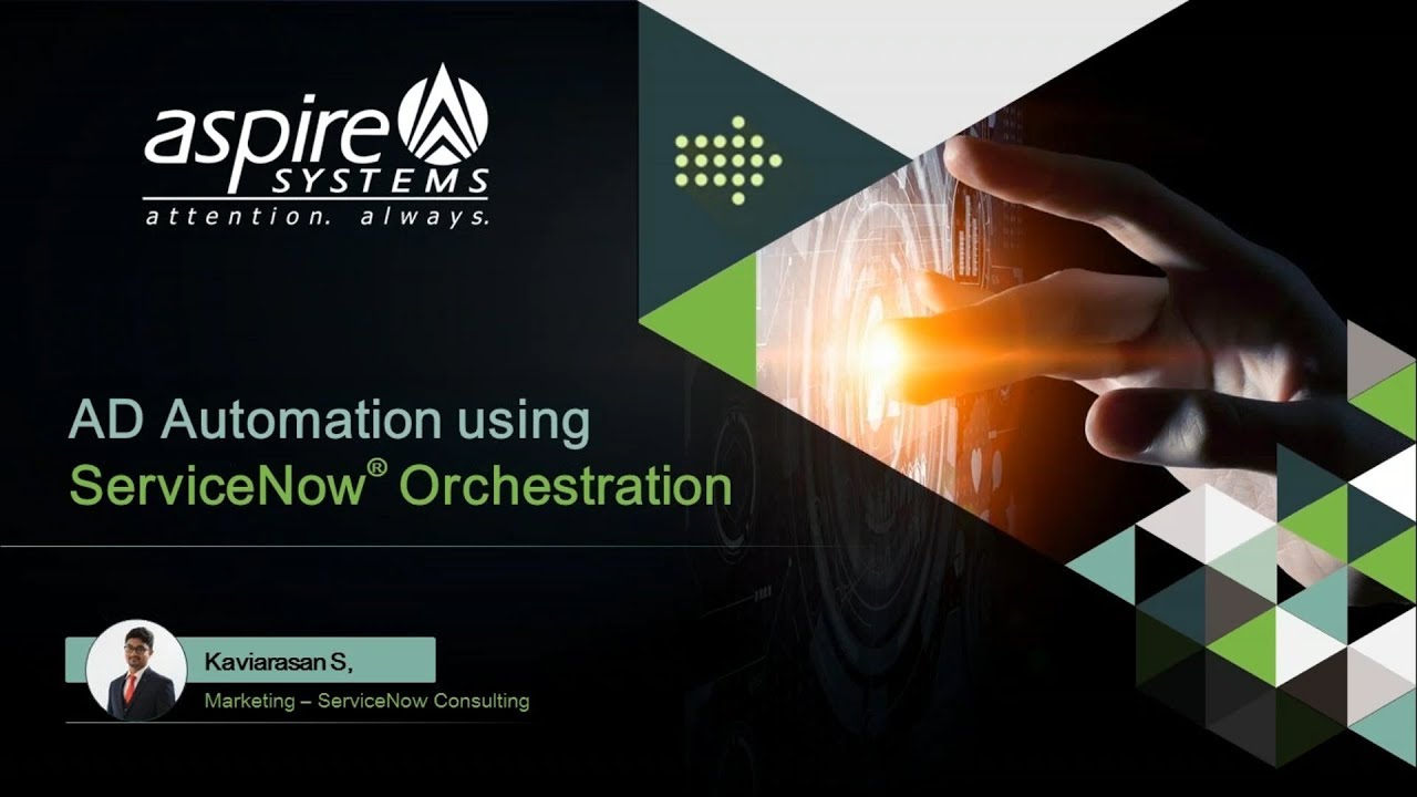 Automating IT Operations Management by ServiceNow Orchestration