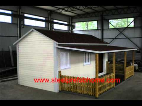 SIPs panels house kits sip panels Prefab wooden timber House one ...