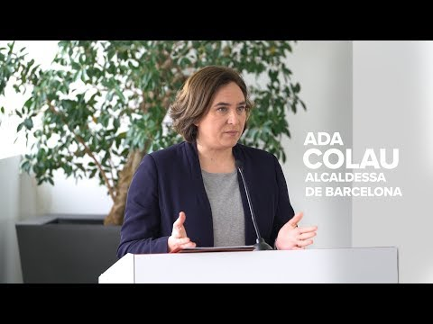 Ada Colau sobre l'acord amb el Port de Barcelona