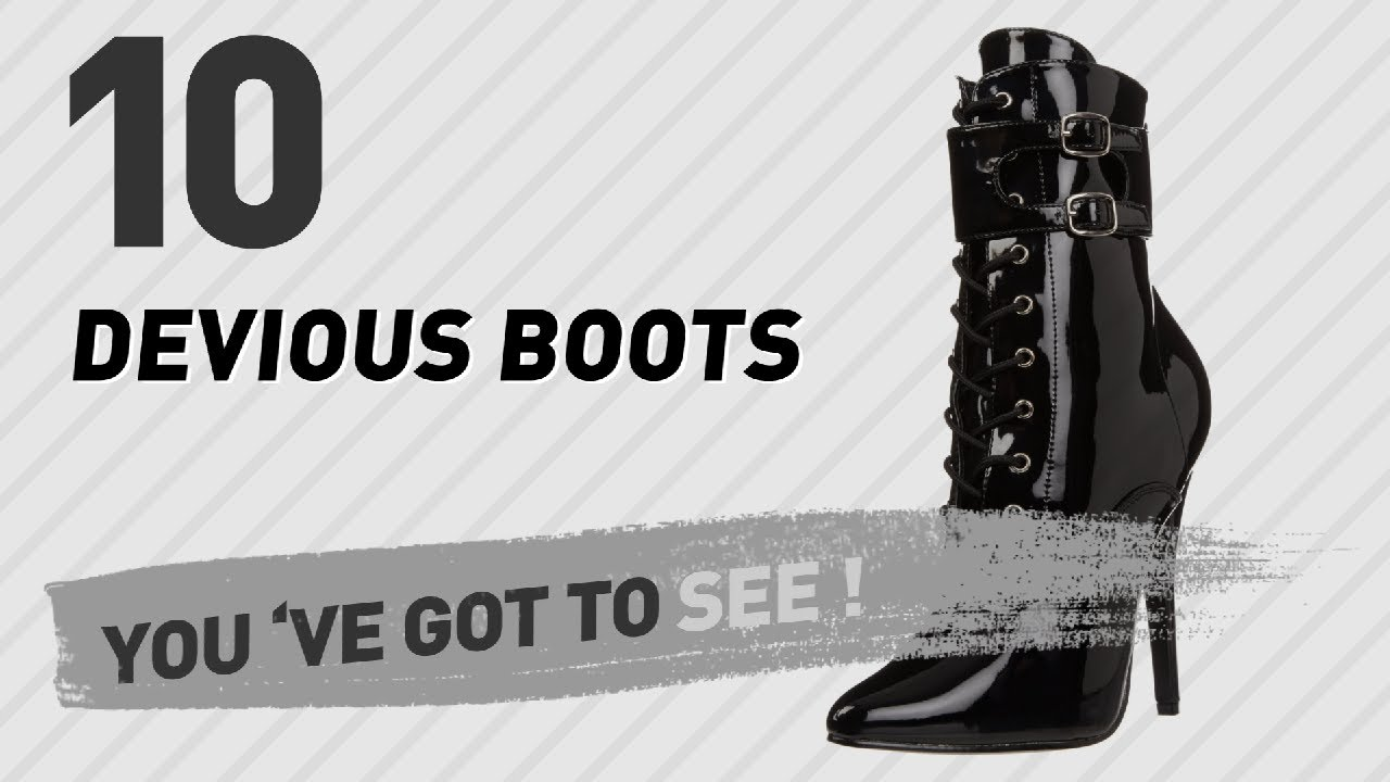 Devious Boots For Women // New & Popular 2017