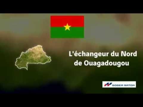 Nouveau echangeur du Nord de Ouagadougou(Burkina Faso)