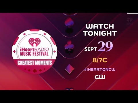 Chris Davis - REMINDER: Our iHeartRadio Music Festival's Greatest Moments Tonight!