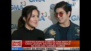 UB: Certified Kapuso stars na sina Mavy at Cassy, excited sa pagsisimula ng kanilang showbiz career