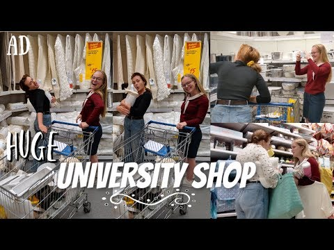 Huge University Shop (with my best friend!)