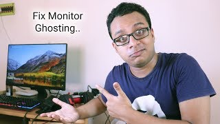 How To Fix Monitor Ghosting (BENQ GW2480) IPS