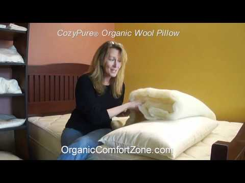 Why choose an organic wool pillow?