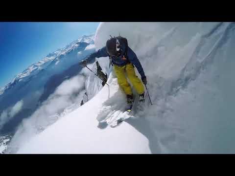 GoPro Line of the Winter  Nicolas Falquet   Switzerland 4 14 15   Snow