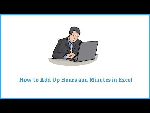 How to add time in excel - Add Hours and minutes in excel