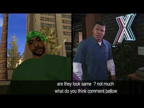 GTA San Andreas   Franklin From Gta V Is Not Son Of Cj But Part Of Groove Street And I Have Evidence