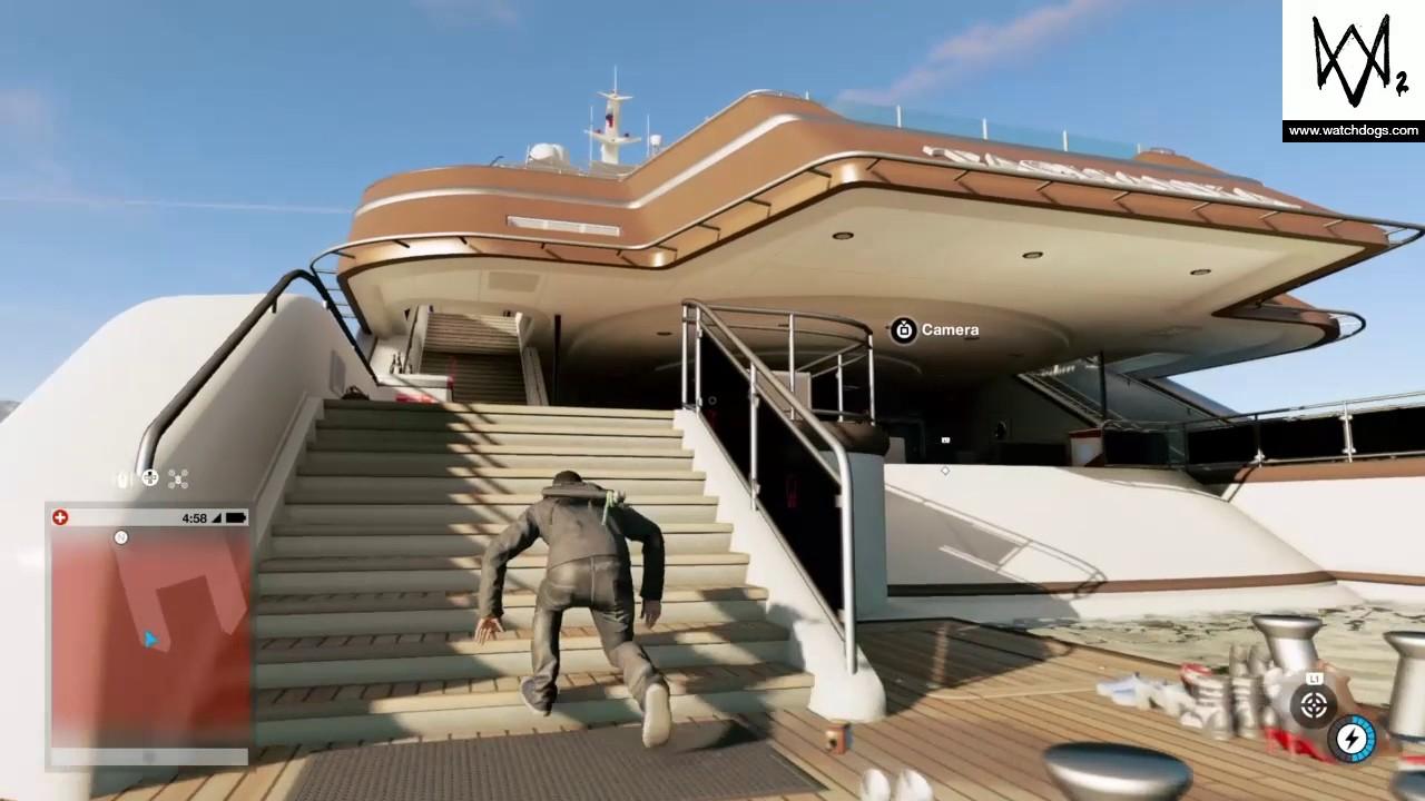 Watch Dogs  Yacht Heist