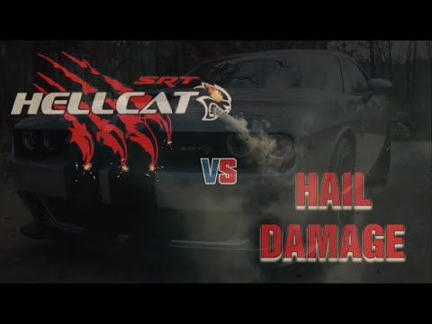 Hail Damage Repair / Hellcat Challenger – Pro PDR of Georgia's Automotive Paintless Hail Solution