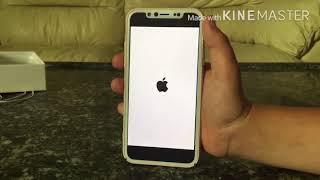 אייפון x unboxing