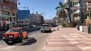 Обзор центральной улицы Хургады Шератон Отдых в Египте 2021