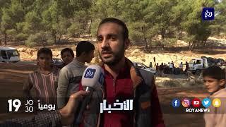 رابطة نشامى السواعير تنفذ مبادرة بعنوان غابات ناعور انظف - (8-11-2017)