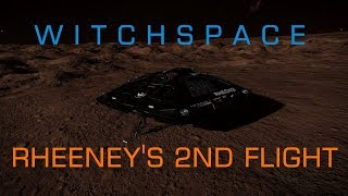 Witchspace - Elite Dangerous: Rheeney's Second Flight - Landing on a High G World!