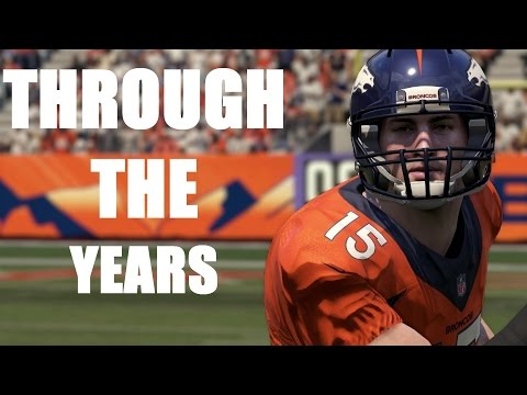 TIM TEBOW THROUGH THE YEARS - NCAA FOOTBALL 2007 - MADDEN 16