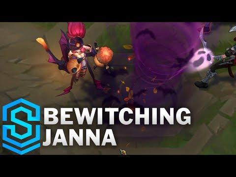 Bewitching Janna Skin Spotlight - League of Legends