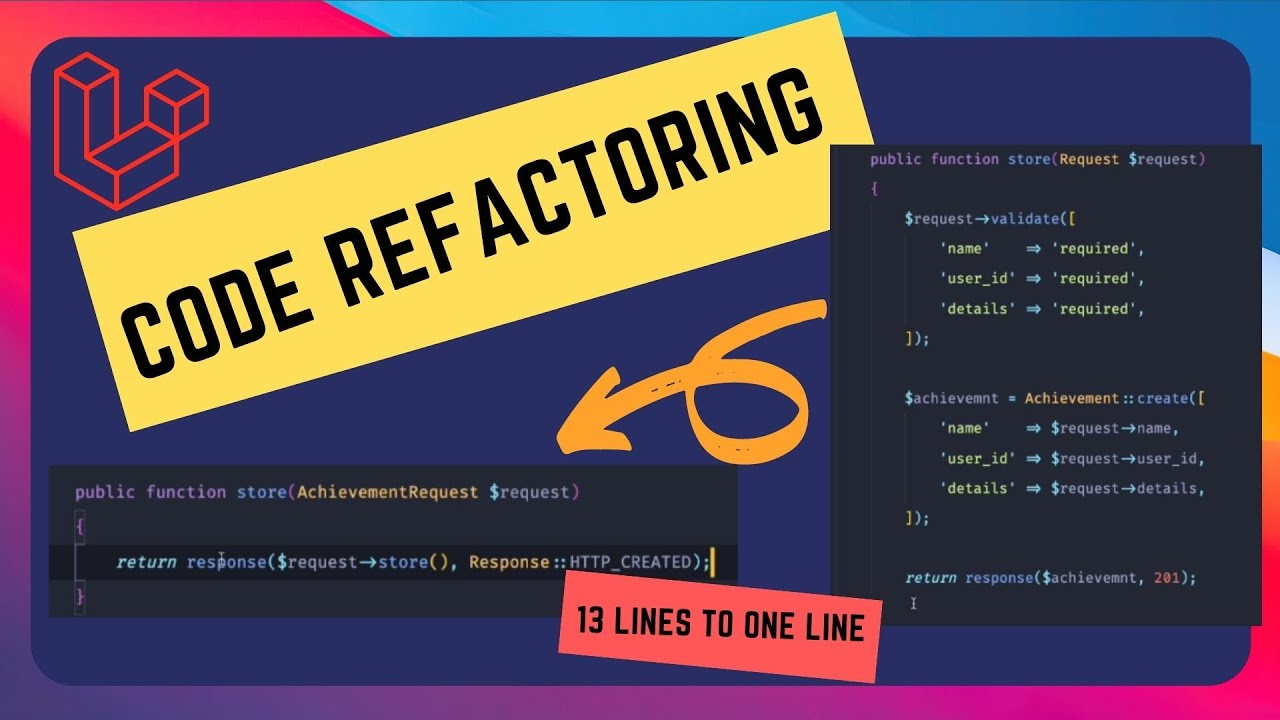 Code Refactoring in Laravel with Testing