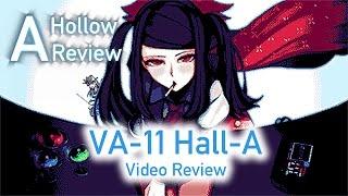 A Hollow Visual Novel Review: VA-11 Hall-A   Cyberpunk Bartending Action!