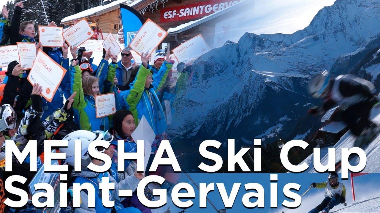 Meisha Ski Cup 2019 Saint-Gervais Mont-Blanc Première édition Slalom géant