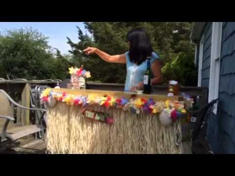 Homemade Tiki Bar Youtube