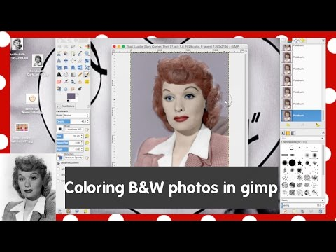Colorizing a Black and White Photo Using GIMP