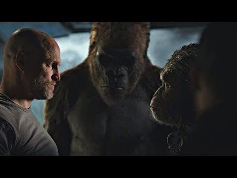 Caesar Vs The Colonel Scene | War For The Planet Of The Apes (2017)#LOWI