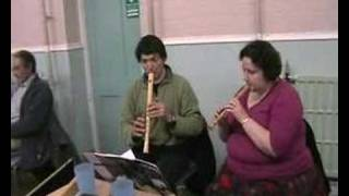 Coventry Carol recorder duet by Mike Brown and Janette Clare