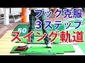フック、チーピン完全克服3ステップ〜スイング軌道〜