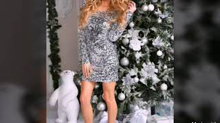 👗🎄💋Elegant Cocktail and Evening Dresses for New Year and Christmas Eve/Formal Wear for Women