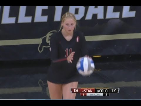 Stanford vs Colorado, 9/24/17 - 4th (partial) and 5th Sets
