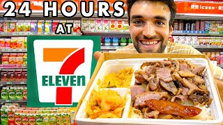 LIVING on 7-ELEVEN FOODS in TAIWAN for 24 HOURS!
