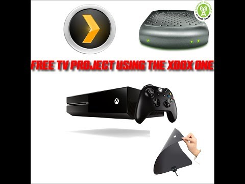 FREE TV PROJECT USING XBOX ONE