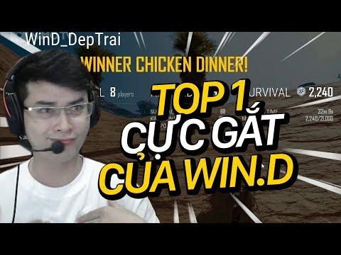 Chiến lược gia Win.D TOP 1 cực gắt với AWM | CƯỜI RỤNG TRỨNG CÙNG WIN.D